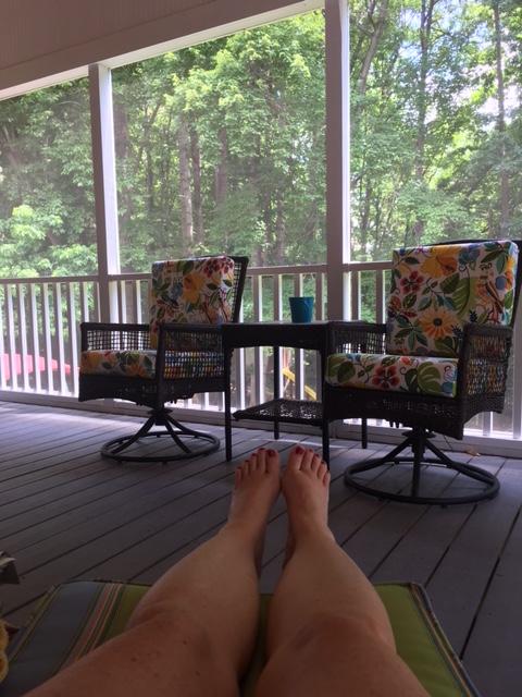 porch sittin