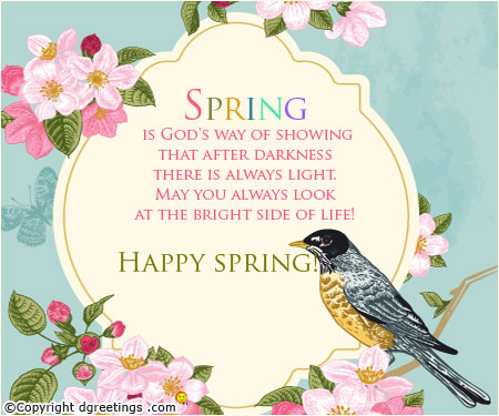 Happy Spring Y'all!