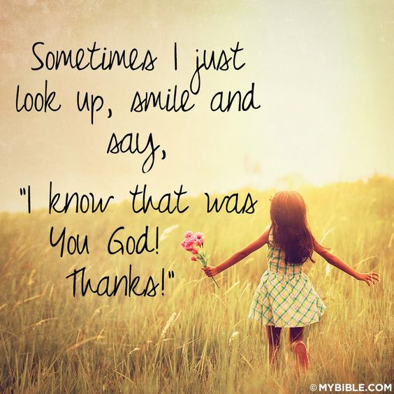 I Know That Was You God!